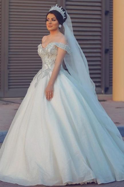 Robes de mariée de créateurs princesse   Robes de mariée avec dentelle