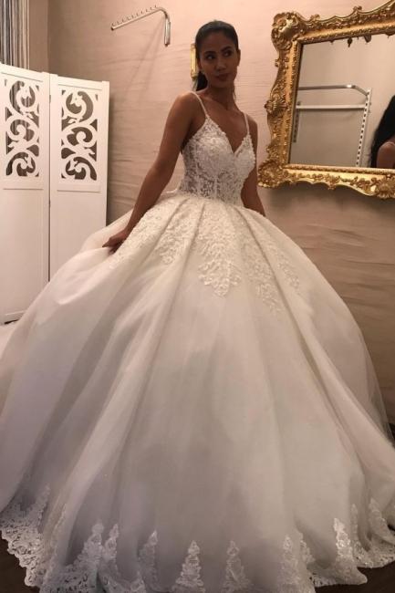 Superbes robes de mariée princesse | Robes de mariée à manches
