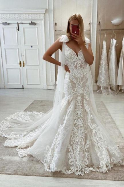 Robes de mariée sirène 2021 | Robes de mariée en dentelle