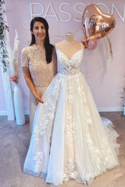 Robes de mariée de créateurs avec dentelle | Acheter des robes de mariée en ligne