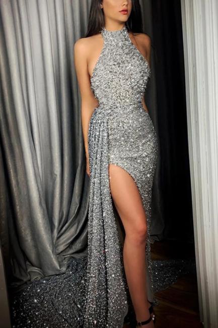 Robes de soirée longues paillettes | robes de bal tenues de soirée en ligne