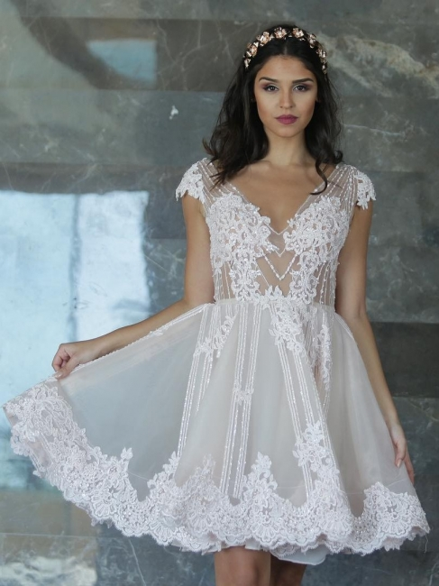robe de soirée courte | robe de soirée mi longue chic