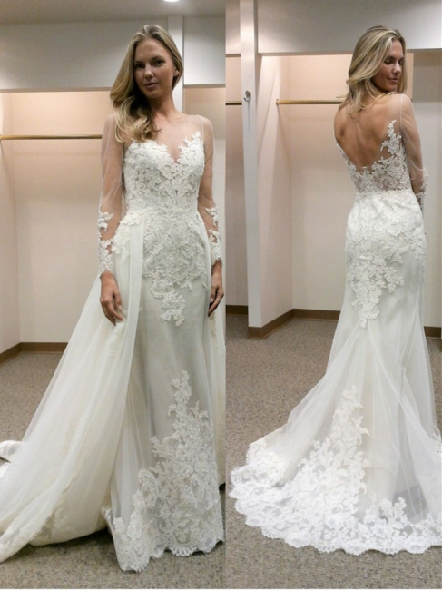 robe de mariée dentelle | robe de mariée sirène