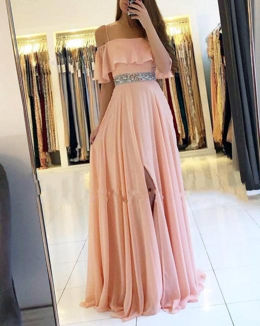 Robe de soirée longue | Robe de cocktail princesse col Bateau
