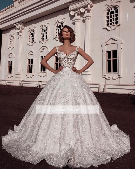 Robe de mariée princesse sublime | Robe de mariage princesse avec appliques