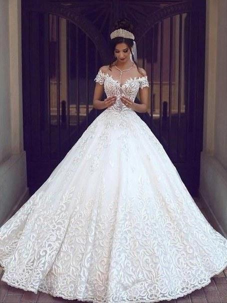 robe de mariée princesse | robe de mariée dentelle