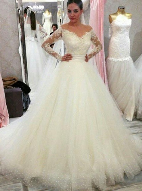 robe de mariée 2021 | robe de mariée princesse avec traine