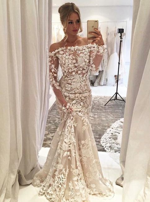 robe de mariée longue pas cher | robe de mariée à fleurs