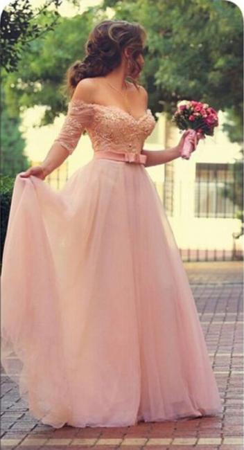 Forme Princesse Longueur ras du sol Col en cœur Tulle Robes de cérémonie avec perle et broderie