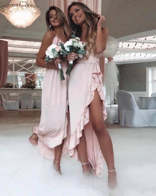 robe de demoiselle dhonneur 2020 robe de soirée asymétrique
