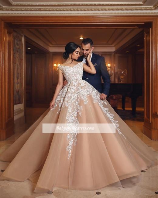 robe de mariée princesse | robe de cérémonie dentelle