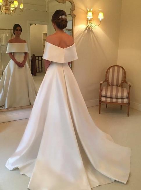 robe de mariée élégante | robe de mariage à traîne