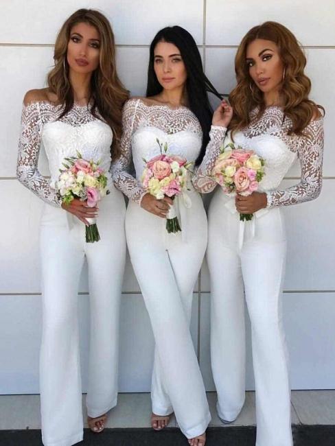 tenue habillé pour mariage | combinaison de demoiselle d'honneur