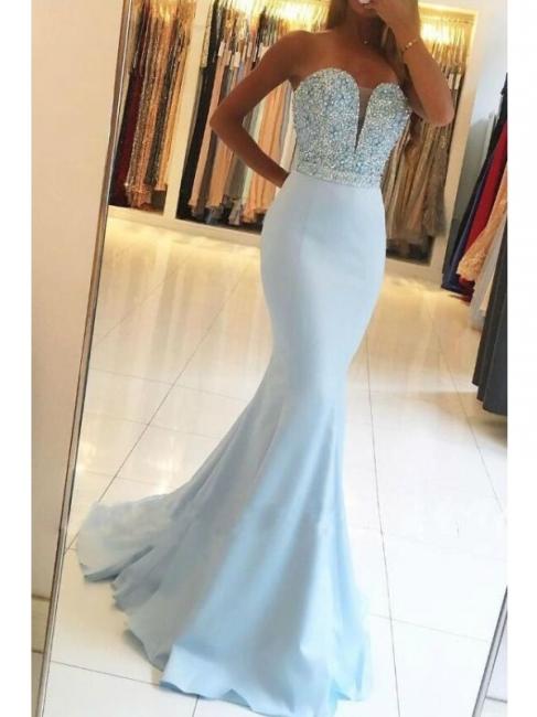 robe de soirée sirène strass | robe de soirée longue
