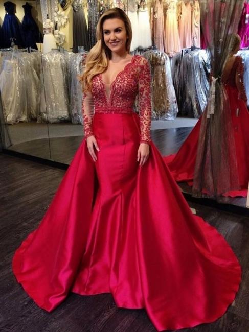 robe de soirée rouge pas cher | robe de cocktail dentelle 2021