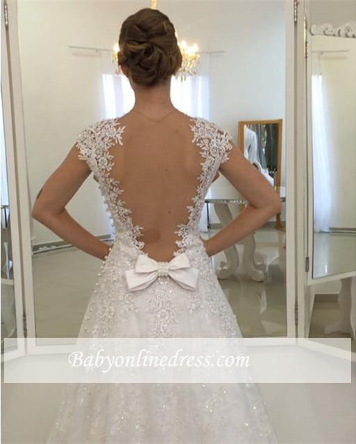 Robe de mariée princesse avec appliques | Robe de mariage princesse élégante