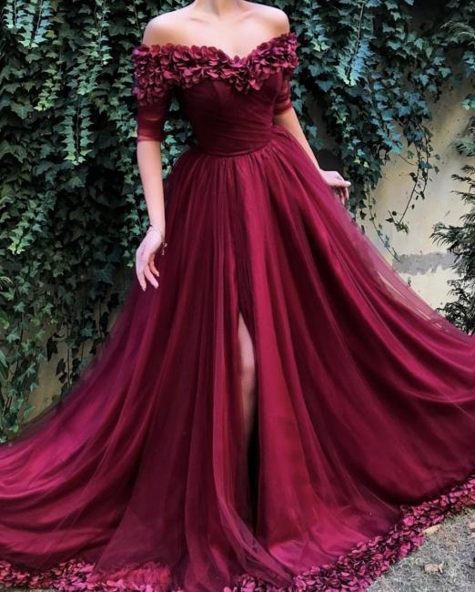 Robe de bal princesse tulle chic | Robe de soirée princesse épaules nues