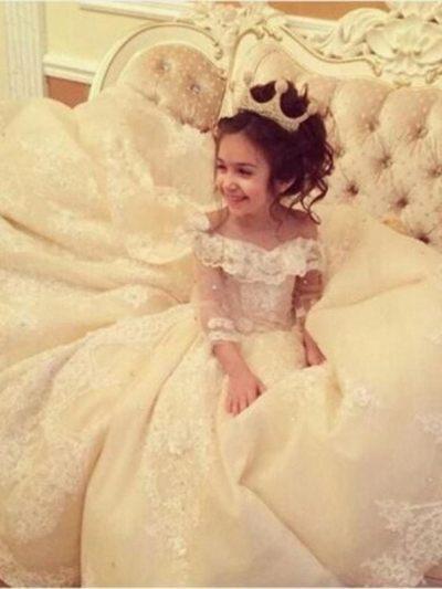 robe de fillette | robe de fille pour mariage