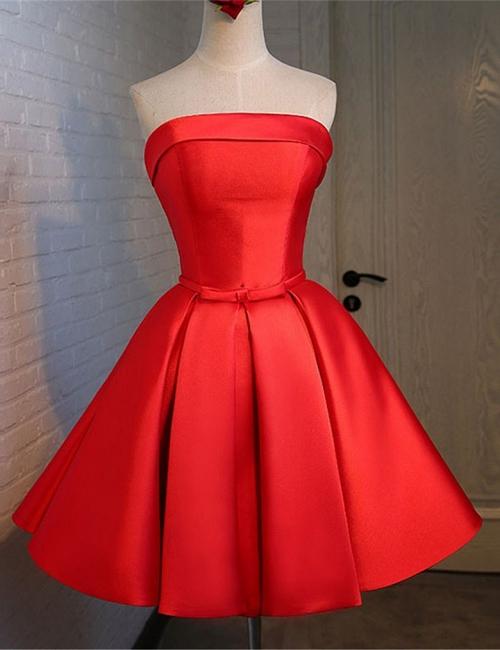 Forme princesse robe de cérémonie robe courte haute qualité couleurs au choix