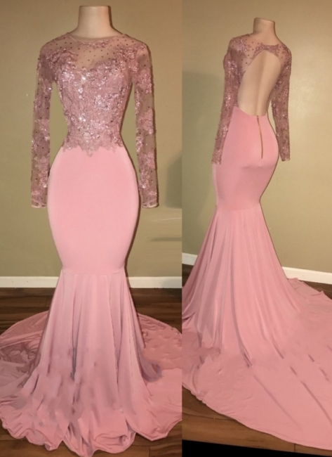 robe de cocktail rose pâle | robe de soirée cérémonie