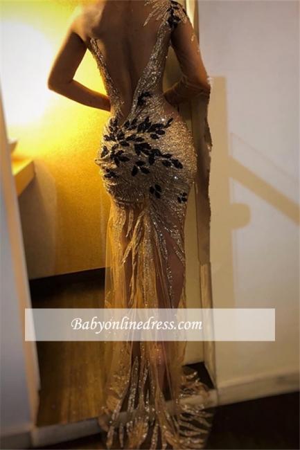 Robe de soirée sirèene épaules asymétriques | Robe de cérémonie charmante