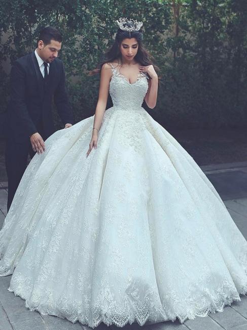 robe de mariage de luxe | robe de mariée princesse