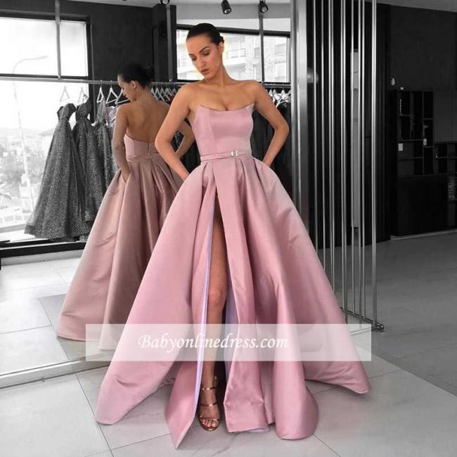 Robe de bal princesse sans bretelles | Robe de soirée princesse moderne