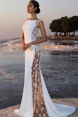Robe de soirée sirène sexy avec dentelle | Robe de cérémonie trompette chic_2