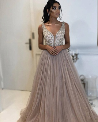 Robe de bal princesse tulle chic | Robe de soirée princesse tulle chic_2