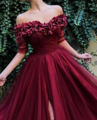 Robe de bal princesse tulle chic | Robe de soirée princesse épaules nues_5