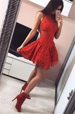 robe de cocktail courte mini en dentelle_1