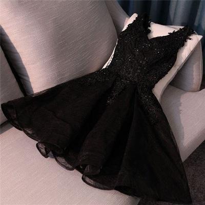 robe de soirée courte dentelle | robe de cocktail chic_3