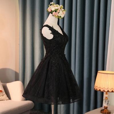 robe de soirée courte dentelle | robe de cocktail chic_4