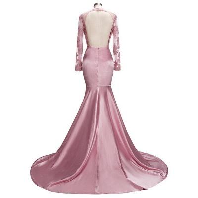 robe de cocktail rose pâle | robe de soirée cérémonie_3