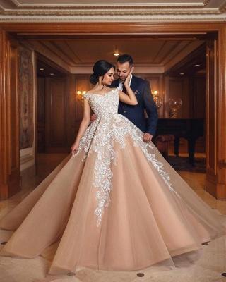 robe de mariée princesse   robe de cérémonie dentelle_3