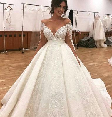 robe soirée princesse critaux | robe dentelle manches longues_2