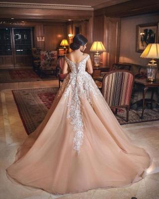 robe de mariée princesse   robe de cérémonie dentelle_4