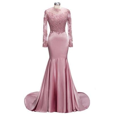 robe de cocktail rose pâle | robe de soirée cérémonie_2