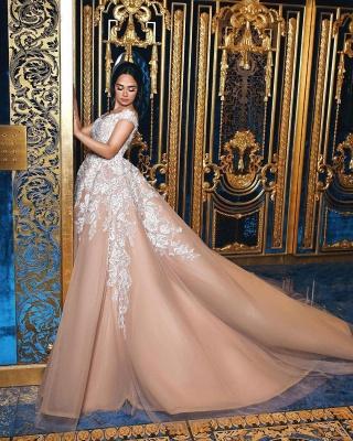 robe de mariée princesse   robe de cérémonie dentelle_2
