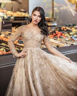Superbe robe de mariée bohème | Robes de mariée manches longues_5