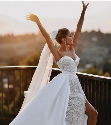 Robes de mariée élégantes en dentelle | Robe de mariée A ligne_3