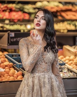 Superbe robe de mariée bohème | Robes de mariée manches longues_3