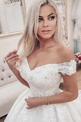 Robes de mariée princesse en dentelle | Superbes robes de mariée pas chères_1