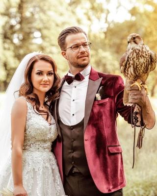 Robes de mariée de créateurs Une ligne | Robes de mariée avec dentelle_5