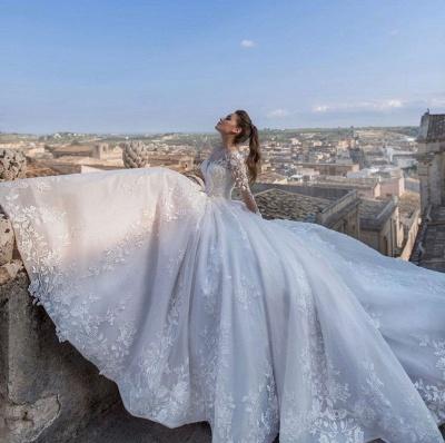 Robes de mariée chic princesse   Robes de mariée avec dentelle_2