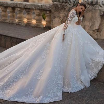 Robes de mariée chic princesse   Robes de mariée avec dentelle_3