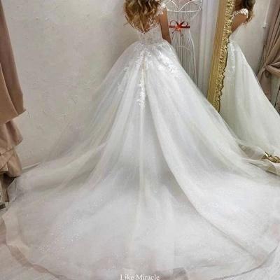 Robes de mariée de créateurs Une ligne | Robe de mariée en tulle_2