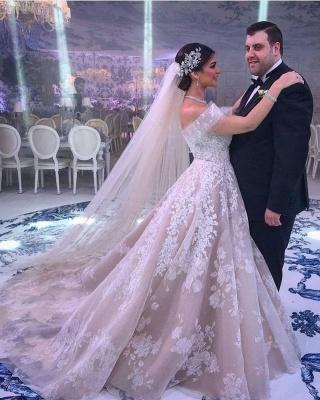 Belles robes de mariée Une ligne | Robes De Mariée Dentelle en ligne_4