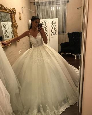 Superbes robes de mariée princesse | Robes de mariée à manches_2