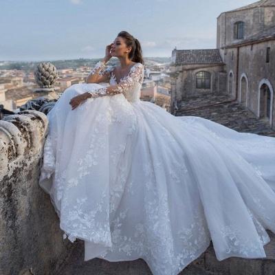 Robes de mariée chic princesse   Robes de mariée avec dentelle_4